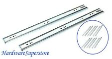 """Set of 6 pairs 22"""" Soft Close Ball Bearing Full extension Cabinet Drawer Slide"""