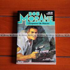BOB MORANE Henri Vernes L'EMPEREUR DE MACAO 1978 #BM58