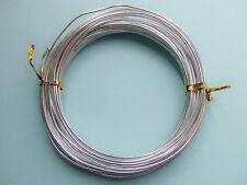 10mt  di filo in alluminio 1,5mm colore argento