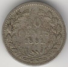 1881 Netherlands 10 Cents | European Coins | Pennies2Pounds