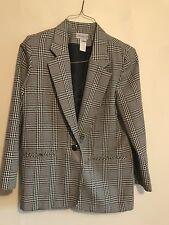 Womens Plaid Blazer - Size 10