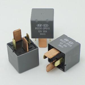 3PCS - 12V 50A car relay DC OMRON 4PIN Automotive Relays