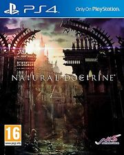 NAtURAL DOCtRINE [PlayStation 4 PS4, Region Free, SRPG Video Game] NEW