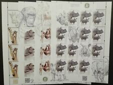 "POLAND STAMPS MNH 1Fi4929-32 Mi5079-82 - Small and large animals"", 2018, **"