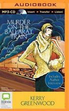 Murder on the Ballarat Train by Kerry Greenwood (2014, MP3 CD, Unabridged)
