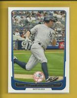 Brett Gardner 2012 Bowman Card # 11 New York Yankees Baseball MLB