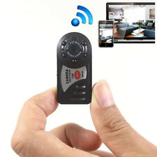 WIFI Mini DV IP Wireless Spy Cam Night Vision Camera Security For Iphone Android