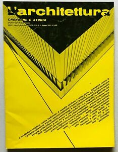 L'architettura cronache e storia n. 319 1982 Bruno Zevi Enzo Zacchiroli Bologna