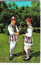 "Romania 1960s Dancers in Folk Costume,North Wallachia Region,""KRUGER"" Publischer"