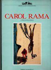 CAROL RAMA, a cura di Paolo Fossati