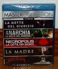 COLECCION TERROR-OUIJA-LA MADRE...-5 DISCOS BLU-RAY-CASTELLANO-NUEVO-NEW-**R2**