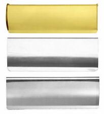 BRASS, CHROME or SATIN Inner Letter Tidy / Cover Flap 280 x 80mm Door Post Box
