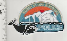 US Police Patch North Slope Borough Alaska Police Department