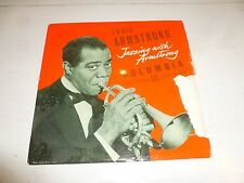 """LOUIS ARMSTRONG - Jazzing with armstrong - UK 8-track 10"""" Vinyl Single"""