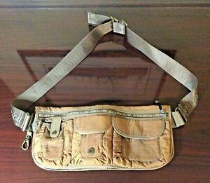 Lululemon Athletica Dog Doggy Doggie Fanny Pack Belt Tan Rust Multipurpose