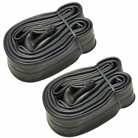 "2-Pack HQRP 26"" x 1.75-2.125 Schrader Valve Bike Bicycle Tire Inner Tube"
