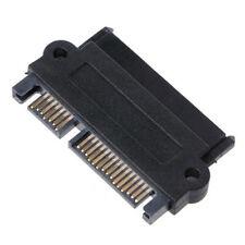 SFF-8482 SAS 22 Pin to 7 Pin + 15 Pin SATA Hard Disk Drive Raid Plug Adapter E<e