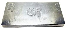 1 Kilo .999 Fine Lead Bullion Stacker Bar - Hand Poured - Hand Stamped