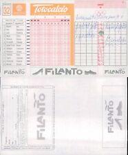 R@RA SCHEDA TOTOCALCIO CONC.N.32  ANNO1995/96 AVV. STORICO X 1° SCIOPERO CALCIO