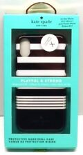 Kate Spade New York Hard Case for iPhone X White/Gold/Black