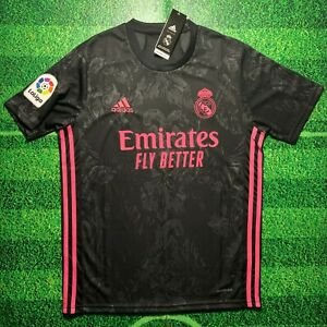 Real Madrid 2020/21 Black Third Away Jersey