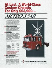 Fire Equipment Brochure - Spartan - Metro Star Chassis (DB251)