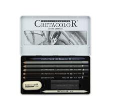 Cretacolor Artino Watersoluble Graphite Tin Set of 10