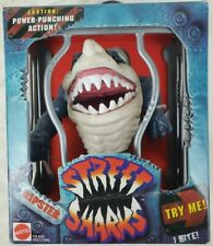 Street Sharks Ripster Series 1 With Power Punching Action Mattel (SEALED BOX)
