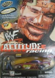 """1999 NEW WWE/WWF ROAD CHAMPS 1/64th scale """"MANKIND"""" ATTITUDE RACING [MOC]"""
