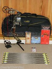 GORGEOUS, LOADED Mathews Lost Camo Creed XS Solocam Bow Package- Left Hand