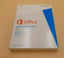 Microsoft Office 2013 Home and Business Product Key Card No Disc