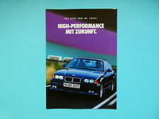 Prospekt / Katalog / Brochure BMW M3 E36 Coupe mit 286 PS  2/1992