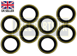 JCB PARTS 3CX - WIPER SEAL FOR STEERING ASSEMBLY PACK OF 8 (PART NO. 904/09300)