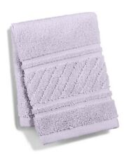 "Martha Stewart Collection 100% Cotton 13"" x 13"" Spa Washcloth - Heather Purple"