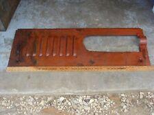Vintage Rat Rod Allen Ford Engine Side Panel Automotive Automobile Car Lot# 7