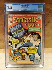 FANTASTIC FOUR #22 (Marvel) CGC GRADED 2.5 CREAM TO OFF-WHITE PAGES Comic Book