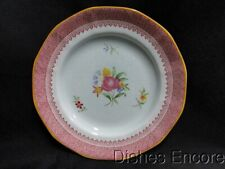 """Adams Lowestoft Calyxware: Bread & Butter Plate (s) 5 7/8"""", Crazing"""