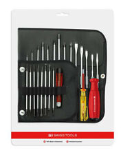 PB SwissTools Screwdriver 8515.CN  31 Piece Tools in Roll-Up Set