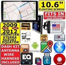 "FITS/FOR NISSAN 10.6"" NAVIGATION BLUETOOTH USB CD/DVD CAR RADIO STEREO PKG"