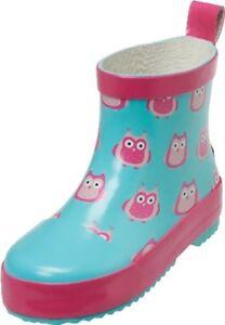 180370 Playshoes Kinder Mädchen Stiefel Gummistiefel Schuhe Eulen Gr. 18 bis 27