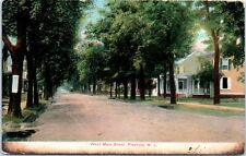 1910s New Jersey Postcard West Main Street Freehold NJ St. View Houses