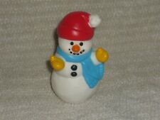 Fisher Price Little People Rare Christmas Holiday Winter Snowman Dollhouse