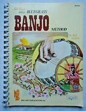 Mel Bay'S Deluxe Bluegrass Banjo Method 1974 Paperback Book 00000537