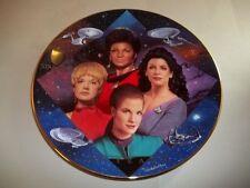 VERY LOW #0623A - RARE 30TH ANNIVERSARY WOMEN OF STAR TREK PLATE