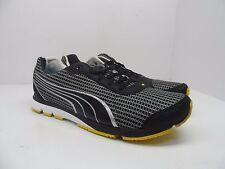 Puma Men's YugoRun NM Running Shoes Black/Pewter/White Size 13M