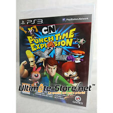 Jeu - CN Cartoon Network PUNCH TIME EXPLOSION XL - Neuf Blister Officiel PS3