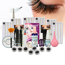 Profession False Eyelashes Indivedual Extension Full Box Kit Set & Fashion Case