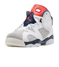 ec2e18e071a9 Jordan 6 Retro Tinker Little Kids 384666-104 White Infrared Shoes Youth  Size 11