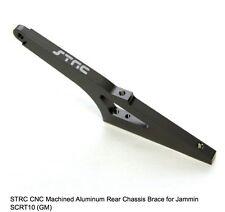 ST Racing Concepts CNC Aluminum Rear Chassis Brace JAMMIN SCRT10 GUNMETAL