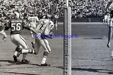 Buffalo Bills Kemp VS Kansas City Chiefs Jerrel Wilson 9-11-1966 8X10 Photo AFL